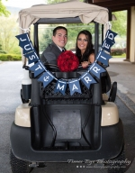just married cart