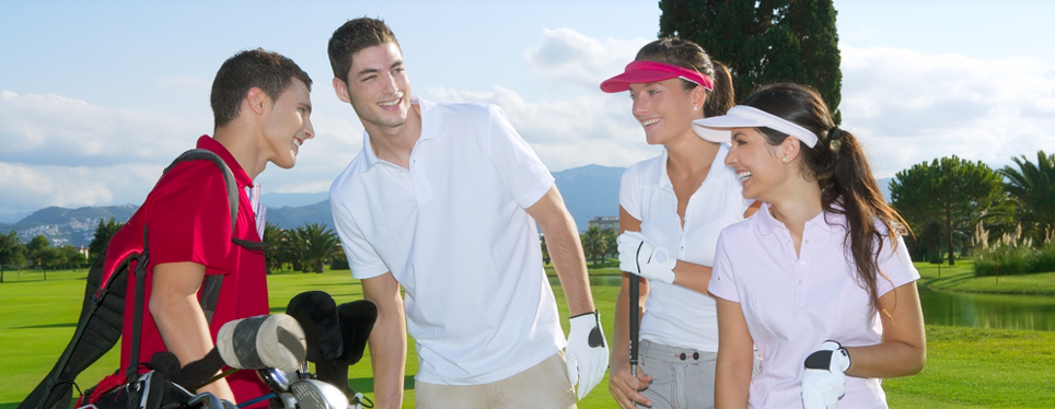 happy-young-golfers